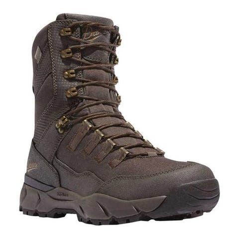"Danner Men's Vital 8"" 400G Mid Calf Boot Brown Leather/Textile"