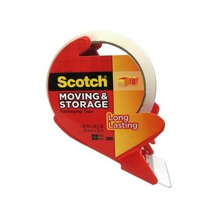 Scotch Moving & Storage Packaging Tape 1.88x38.2yd