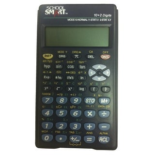 School Smart Scientific Calculator, 3 x 1/4 x 5-1/8 Inches