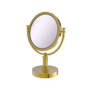 Link to Allied Brass 8-in Vanity Top Make-Up Mirror 4X Magnification Similar Items in Mirrors