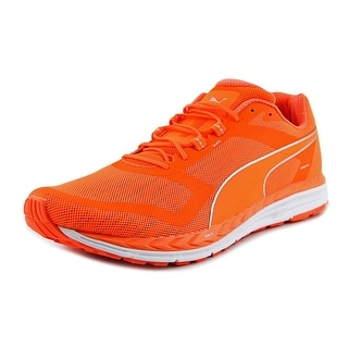 Puma Speed 500 Ignite Men Round Toe Synthetic Orange Running Shoe