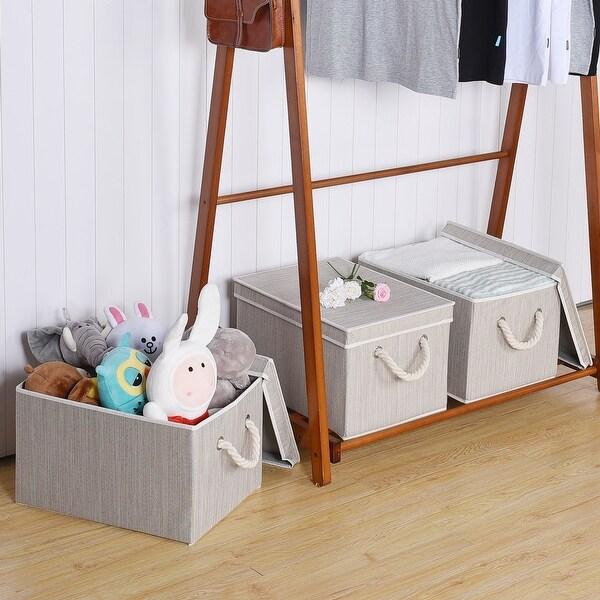 Shop Storageworks Storage Bin Box With Rope Handle And Lid