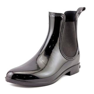 INC International Concepts Rubiee Women Black Shiney Snow Boots