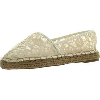 Dollhouse Womens Flirt Espadrille Lace Comfortable Fashion Flats Shoes