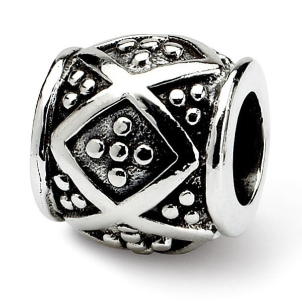 Sterling Silver Reflections Dots Bali Bead (4mm Diameter Hole)