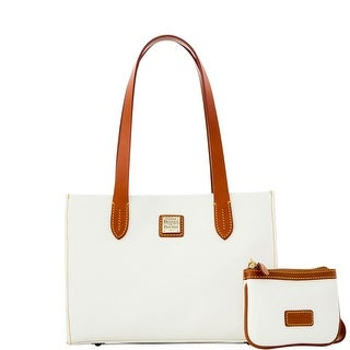 Dooney & Bourke Eva Small Shopper W Med Wristlet (Introduced by Dooney & Bourke at $228 in Feb 2016) - White