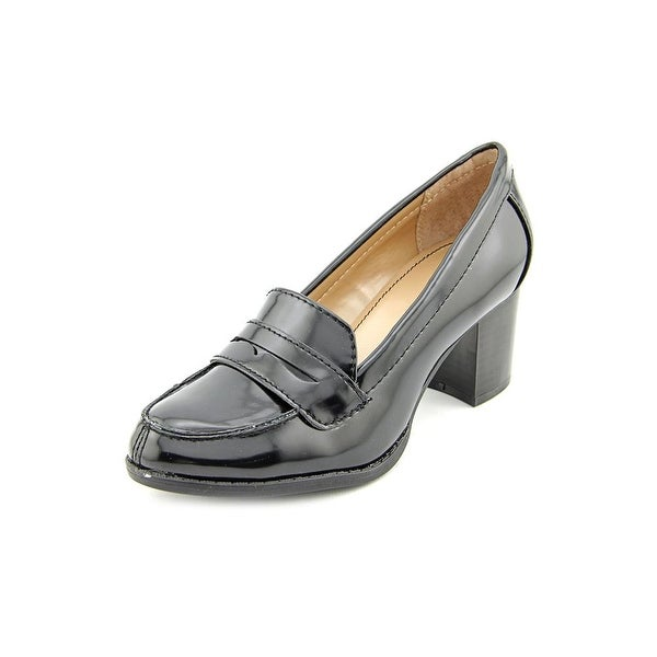 Style & Co Raphiela Womens Black Loafers
