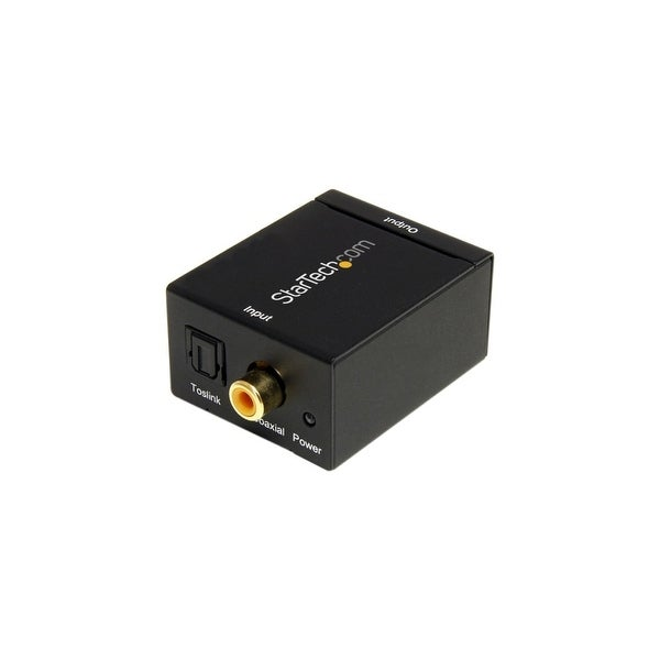 StarTech SPDIF2AA StarTech.com SPDIF Digital Coaxial or Toslink Optical to Stereo RCA Audio Converter - 1 x RCA Female Audio