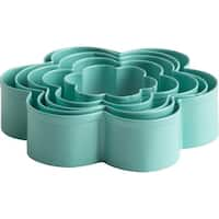 Metal Cookie Cutter Set 5/Pkg-Flowers