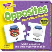 Trend Enterprises Opposites Puzzle Set