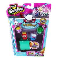 Shopkins Season 6 Chef Club Playset 5-Pack - multi