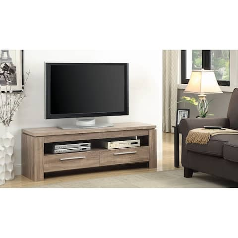 Hibbett 59-inch 2-drawer TV Console - 59 inches in width