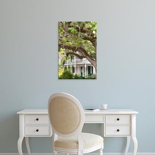 Easy Art Prints Cindy Miller Hopkins's 'Historic Home' Premium Canvas Art