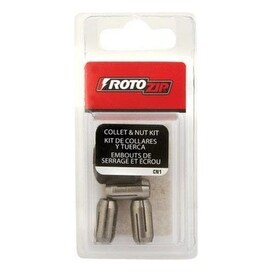 Roto-Zip CN1 Replacement Collet And Nut Kit, 1/8""