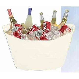 Creative Bath Products PTUB-WH WHT Party Tub - White - Pack of 6