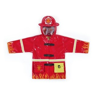 Kidorable Fireman Rain Coat - multi