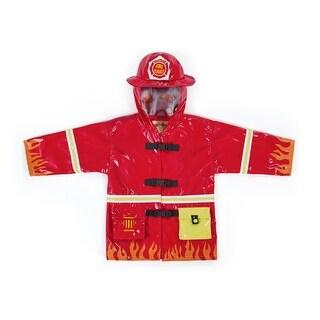 Kidorable Fireman Rain Coat - multi