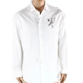 Polo Ralph Lauren NEW White Mens Size Large L Button Down Shirt
