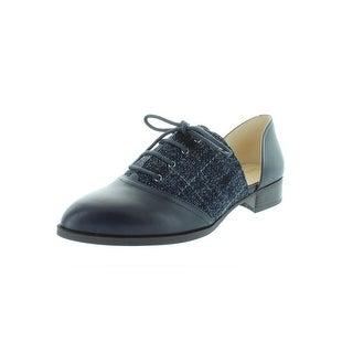 Nine West Womens Nuvima Oxfords Leather D'Orsay - 8.5 medium (b,m)