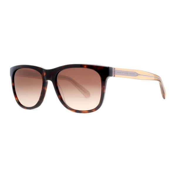 Marc by Marc Jacobs MMJ 360/N/S 5WY HA Dark Havana Brown/Clear Olive Sunglasses - dark havana brown - 54mm-17mm-140mm