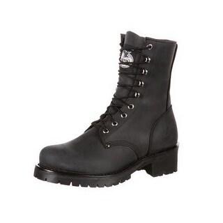 Georgia Boot Work Mens Logger Goodyear Welt Leather Black GB00047