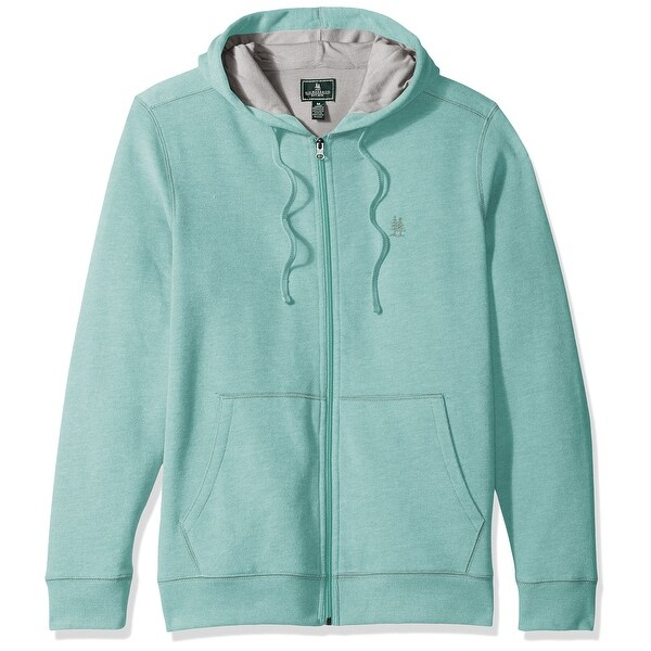 75516db47c7806 Shop G.H. Bass & Co. Agate Green Mens Size XL Full Zip Hooded Sweater - Free  Shipping On Orders Over $45 - Overstock - 22110315