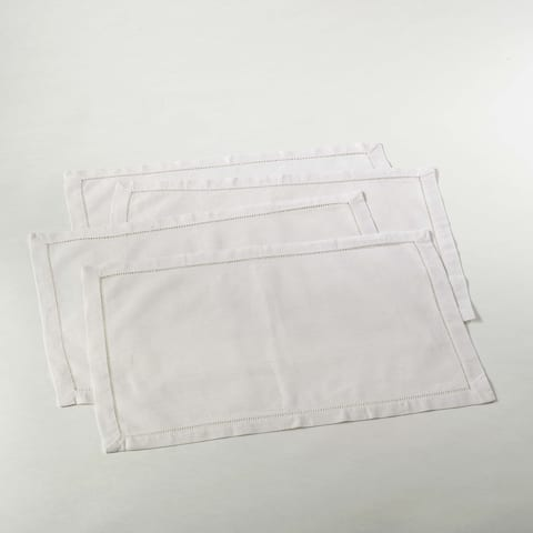 Hemstitched Placemat (Set of 4)