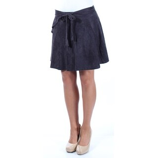 Womens Black Casual Skirt Size XS