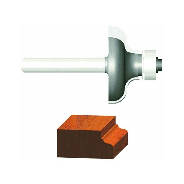 """Vermont American 23146 Carbide Tipped Silver Series Ogee Router Bit, 1-1/2"""" OD"""