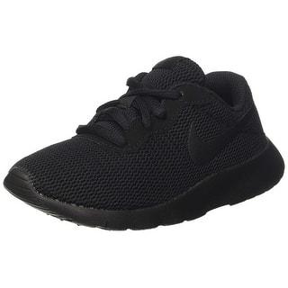 cecc69e392f9 Nike Kids Tanjun (Ps) Running Shoe Black Black(001) 2.5 Little