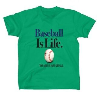AFONiE Baseball Is Life Kids T-Shirt