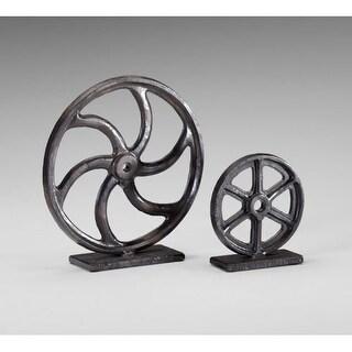 """Cyan Design 4730 10"""" Gear Sculpture"""