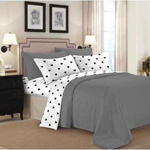 Porch & Den 160 GSM Deep Pocket Cotton Flannel Bed Sheet Set