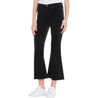 Rag & Bone Womens Pants Velvet Cropped