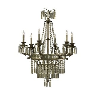 "Cyan Design 6488-6 39.25"" Six Lamp Chandelier"