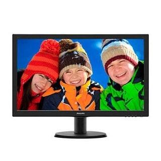 Philips 243V5lsb/00 V-Line 23.6'' 1080P Full Hd Led-Backlit Lcd Monitor, Black