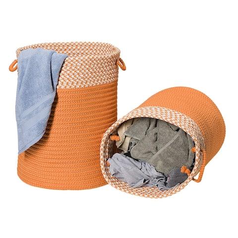 Splash Indoor-Outdoor Hamper Baskets in 6-Colors Sm/Lrg