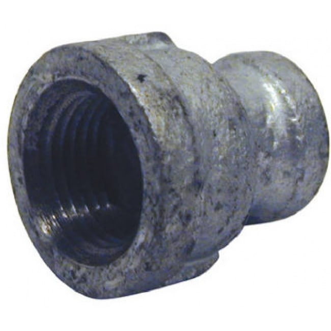 PanNext G-RCP0502 Galvanized Coupling, 1/2 x 1/4