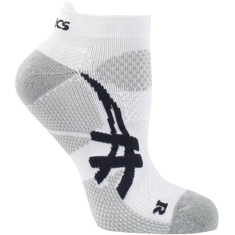 Asics Womens Resolution Low Cut Tennis Athletic Socks Socks