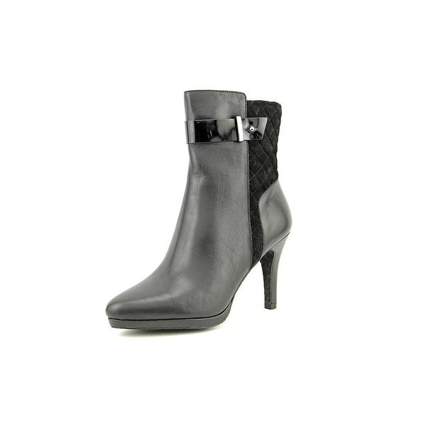 Tahari Galina Pointed Toe Leather Ankle Boot