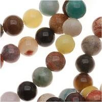 Gemstone Bead Lot Mix 4mm Round Beads /15.5 Inch Strand