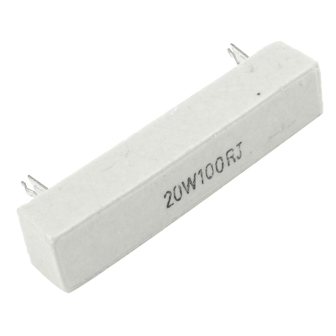 US Stock 2pcs 0.25 ohm 0R25ΩJ 20 watt Axial Ceramic Cement Power Resistor 20W