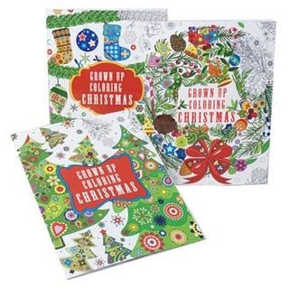 Regent Products 6004 Christmas Adult Coloring Books