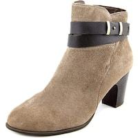 Giani Bernini Womens CALAE Leather Round Toe Cowboy Boots