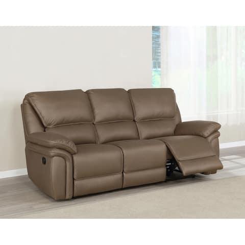 Breton Upholstered Tufted Back Motion Sofa