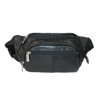 Travelon Leather RFID Blocking Waist Pack
