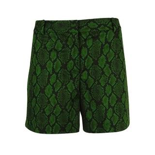 MICHAEL Michael Kors Women's Snake Print Shorts