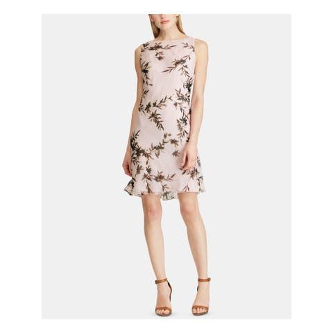 AMERICAN LIVING Pink Sleeveless Mini Shift Dress Size 6