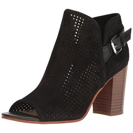 Sam Edelman Womens Easton Leather Open Toe Ankle Fashion Boots