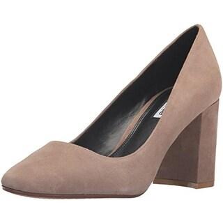 Dune London Womens Abelle Pumps Suede Heels - 8 medium (b,m)